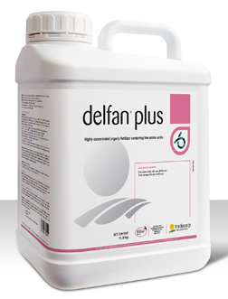 Delfan Plus L-α Free Amino Acid plant biostimulant and anti stress product containing organic nitrogen